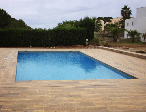 Swimming pool project in Colomar