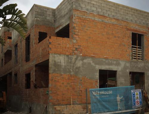 Proyecto Alamos. Edificio 4 viviendas y garaje